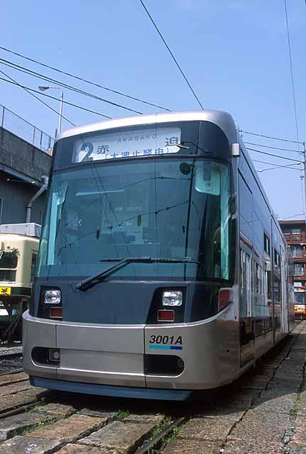 長崎電気軌道3000形